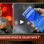 Samsung apaga el Galaxy Note 7