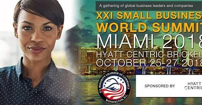 """Vicente Pimienta Keynote Speaker in our program of """"The XXI World Small Business Miami 2018 """""""