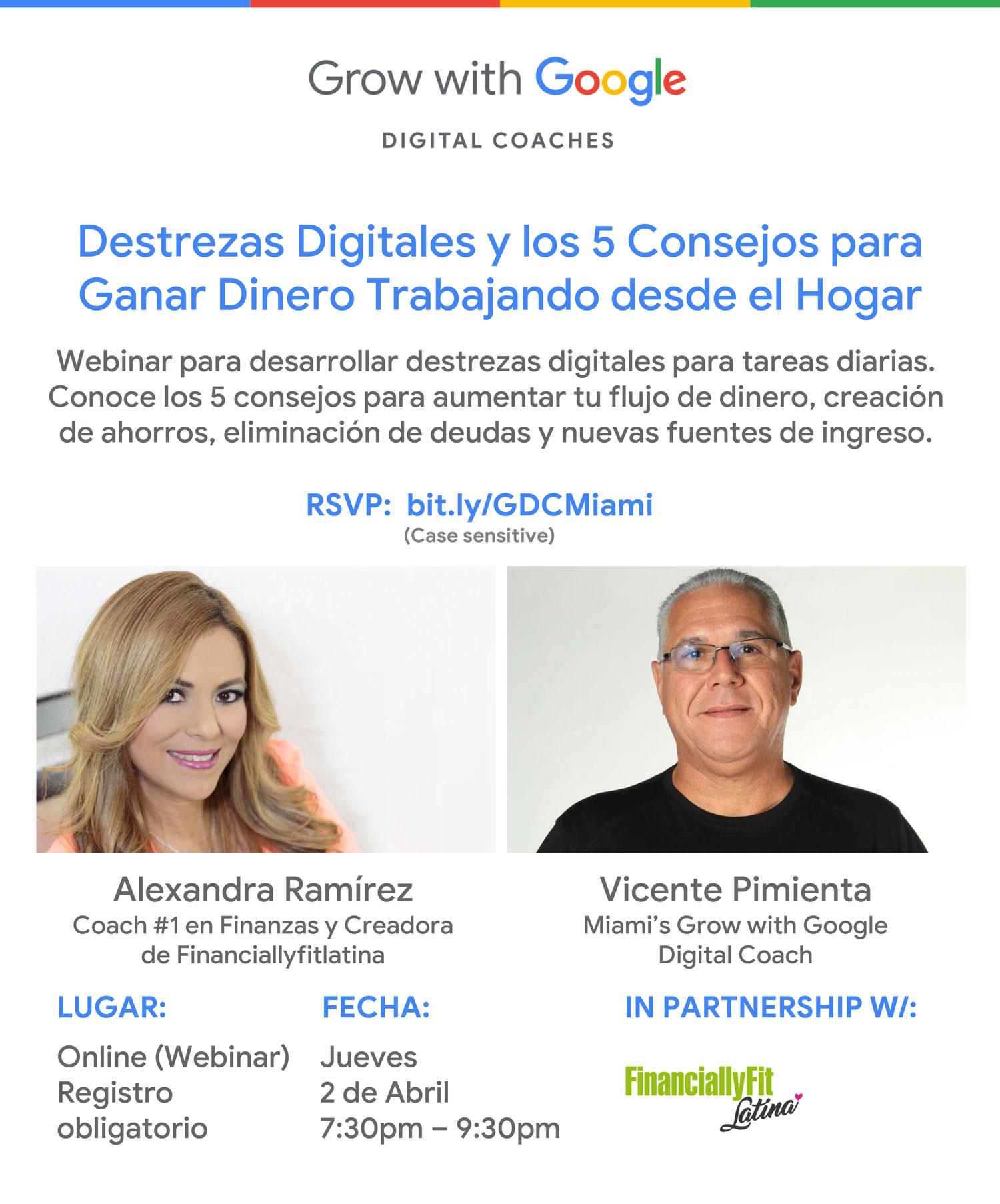 Destrezas Digitales y 5 Consejos para Ganar Dinero Trabajando desde el Hogar.