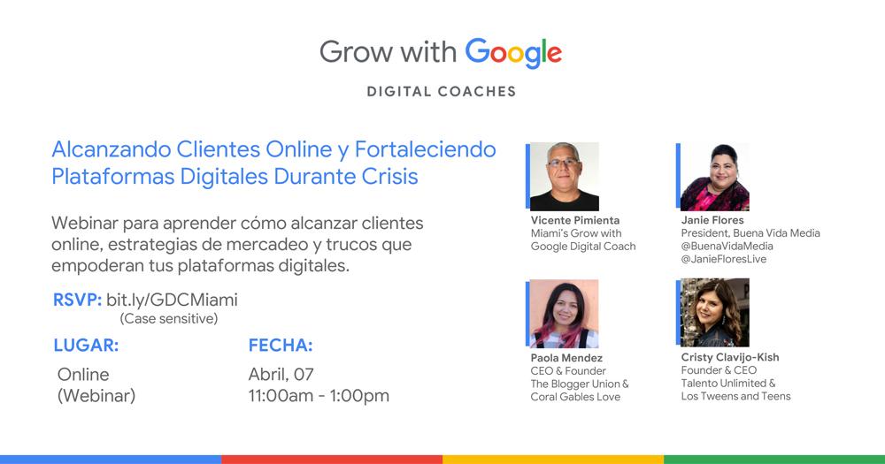 Alcanzando Clientes Online y Fortaleciendo Plataformas Digitales