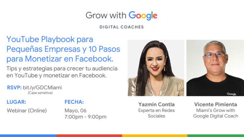 YouTube Playbook para Pequeñas Empresas y 10 Pasos para Monetizar en Facebook